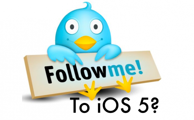 iOS5: Twitter Friendly Features