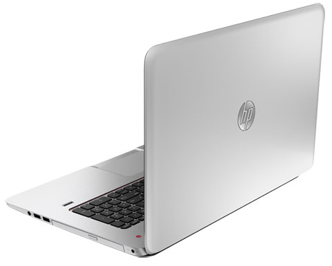 HP Envy 17 side view