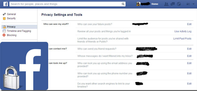 Controlled Sharing On Facebook