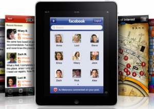 ipad facebook  apps