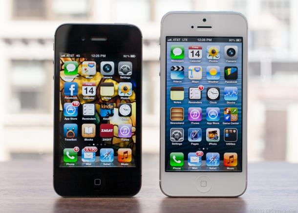 Differences Between The iPhone 5 And 4S