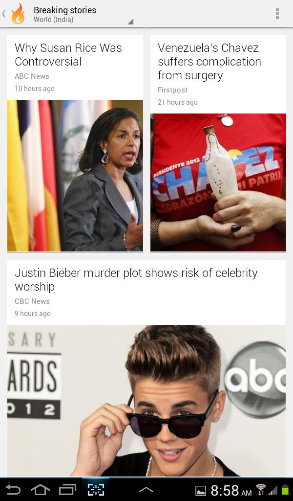 google currents breaking stories