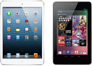 iPad Mini Or Nexus 7: Let's Do A Comparison