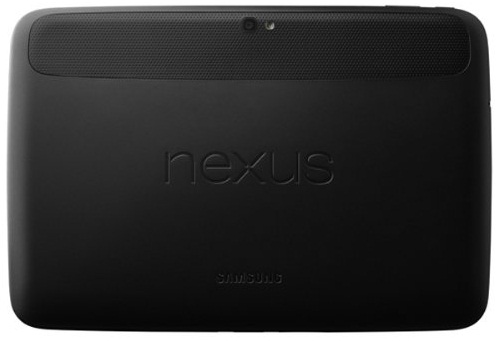 Google Nexus 10 back