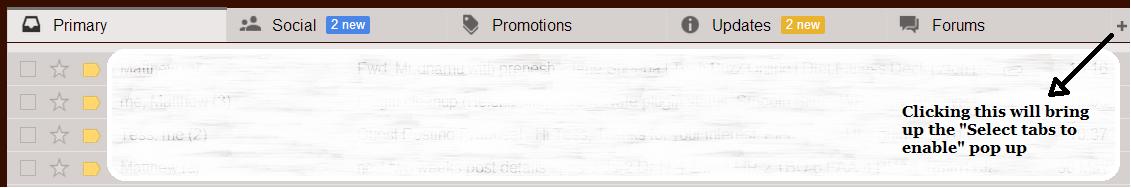 Gmail tabs inbox look