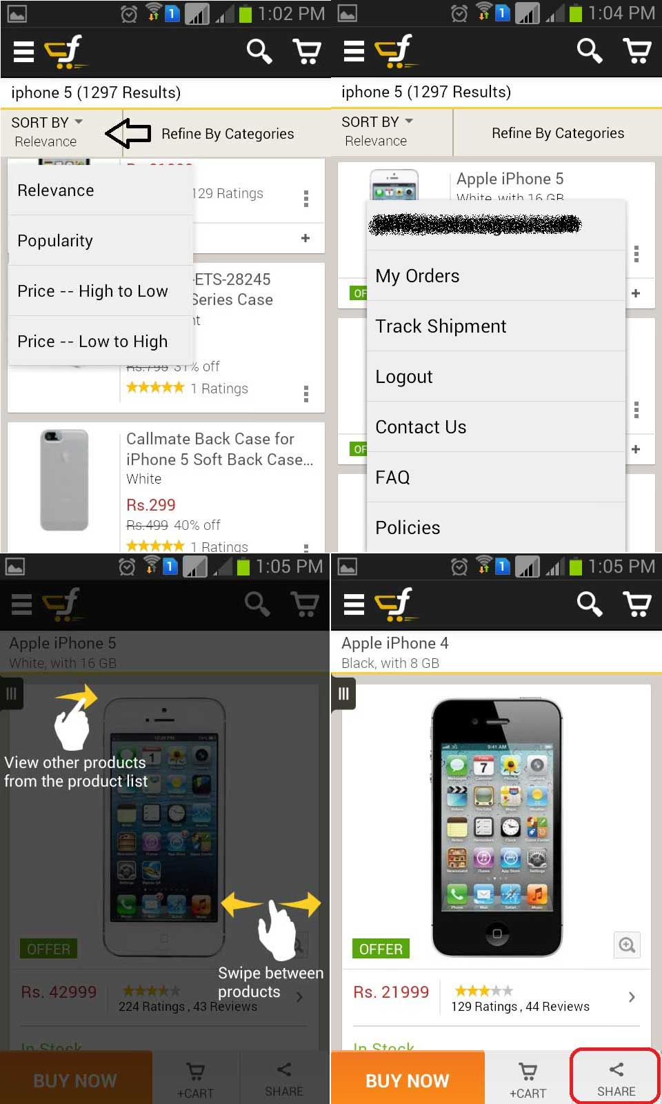 Flipkart App For Android Phones