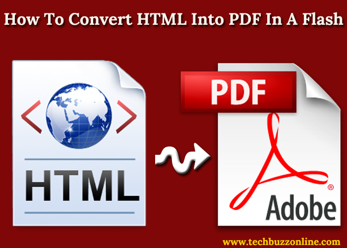 How To Convert HTML Into PDF In A Flash