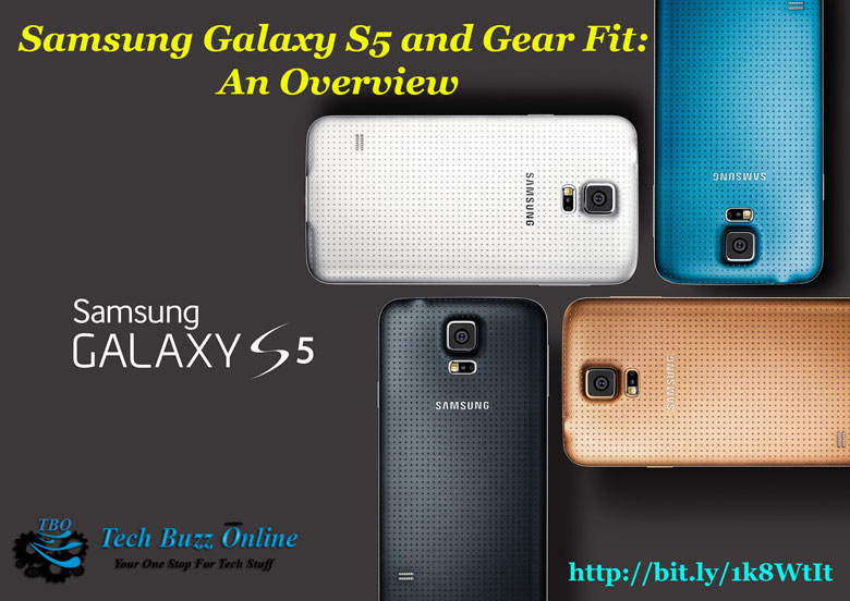 Samsung Galaxy S5 and Gear Fit