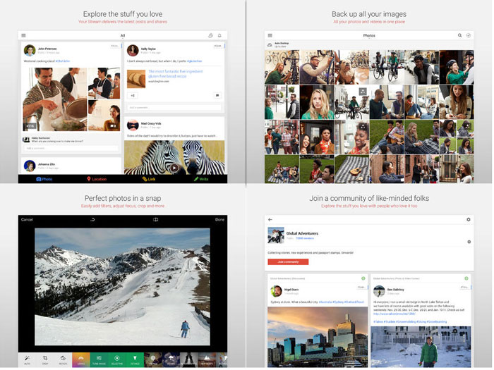 Google+ can be your new photo editing app in iOS