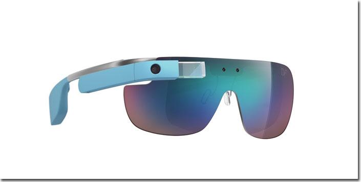 Google Glass with fancy frames and shades, thanks to Diane von Furstenberg
