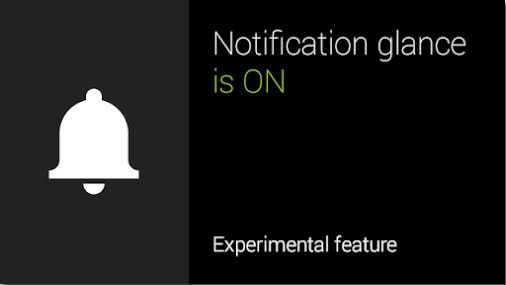 Google Glass's experimental feature lets you see notifications when you glance up