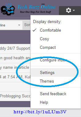 How to block an email address in Gmail-settings