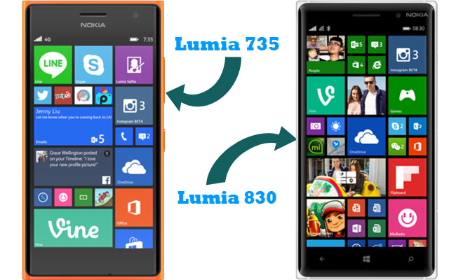 Lumia 830 and 735 launched in Malaysia by Microsoft