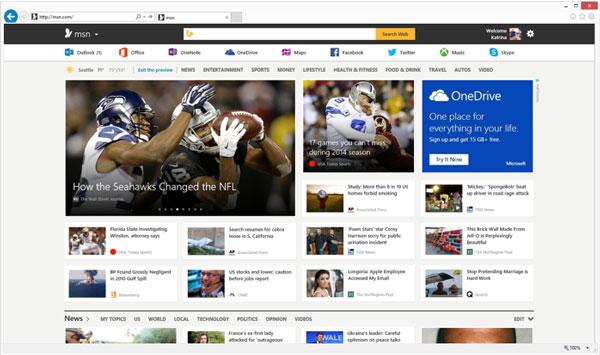New MSN