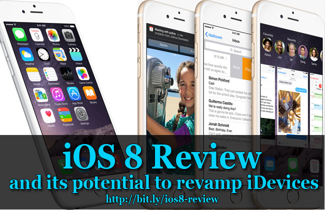 iOS 8 Review and its potential to revamp iDevices