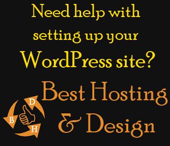 Best hosting and design