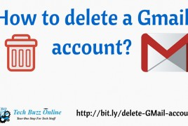 How to delete a Gmail account?