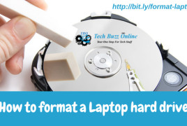 How-to-format-a-Laptop-hard-drive
