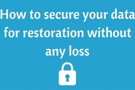 Move Your Data In A Safe and Secure Environment To Get It Restored Without Any Loss