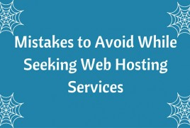 Mistakes to Avoid While Seeking Web Hosting Services