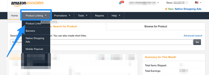 amazon-associate-find-products