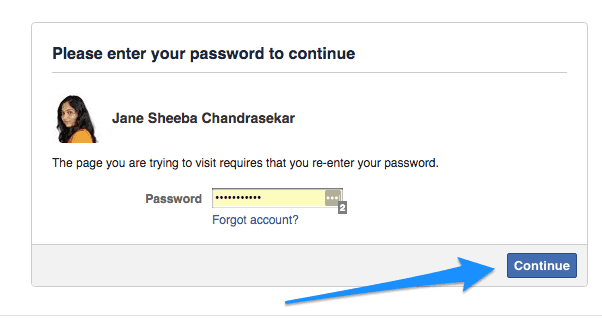 Facebook-authenticate