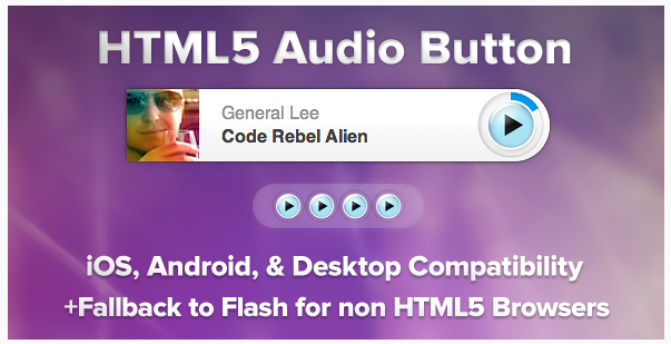 Universal HTML5 Audio Player
