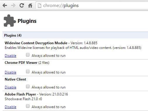 chrome-plugins