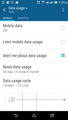 limit-data-usuage