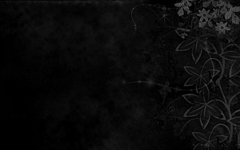 Floral Dark Background