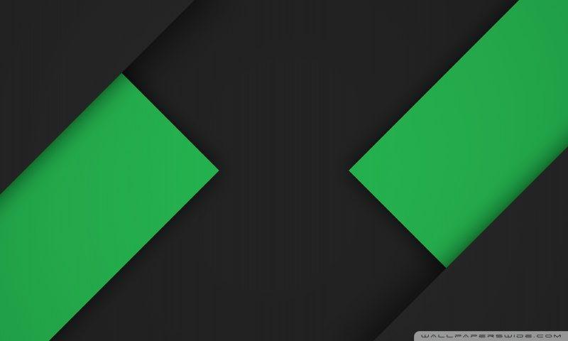 Material green black wallpaper