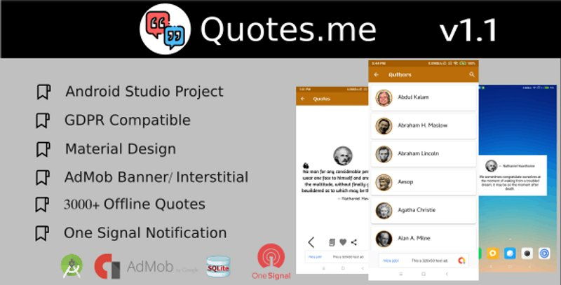 6 Quotesme Offline Quotes app