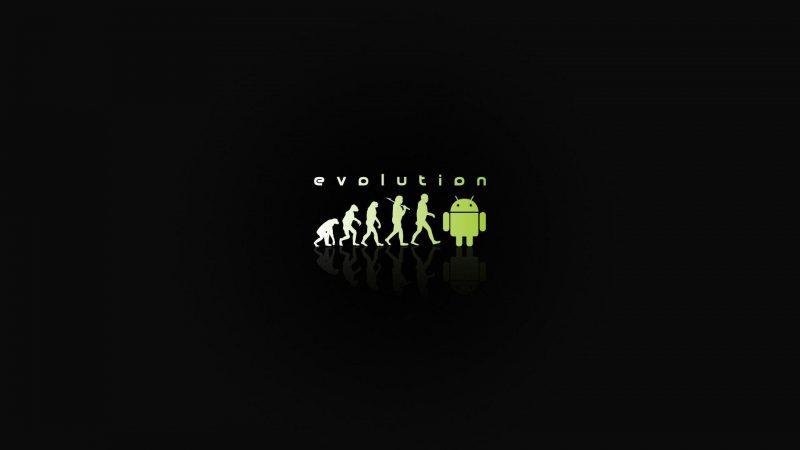 Android Evolution Wallpaper