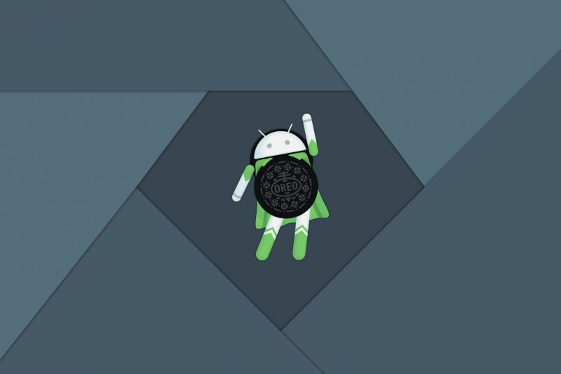 oreo wallpaper blue gray