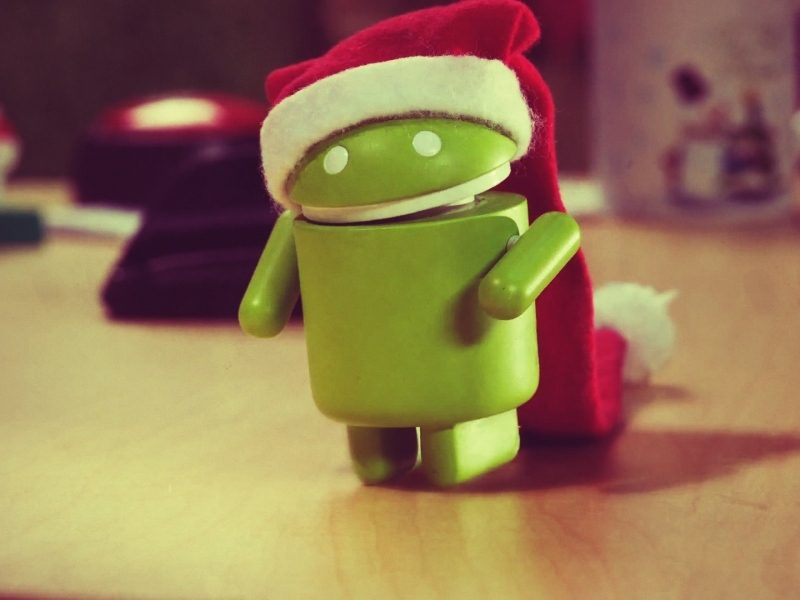 Android Robot Christmas & New Year