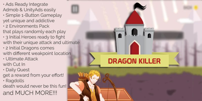 dragon killer unity game source