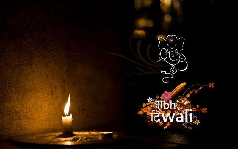 Shubh Diwali with Lord Ganesha