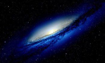 Blue Galaxy Wallpaper