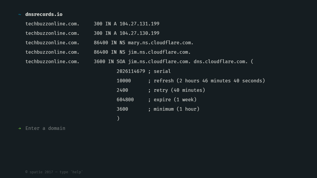 How to Check DNS Records of a Domain