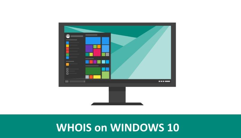 whois command windows 10