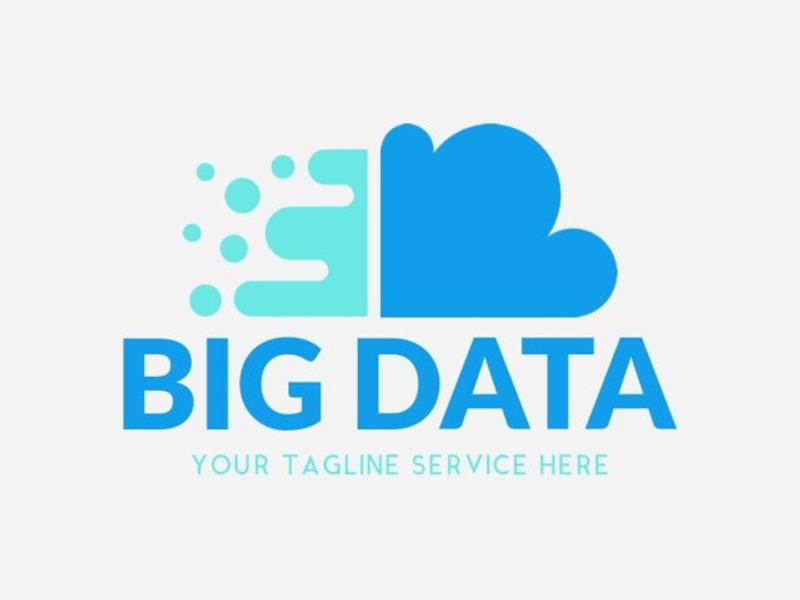 big data logo template