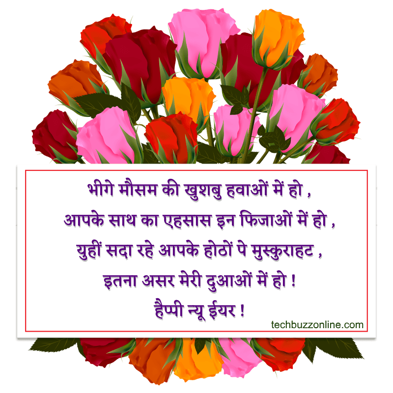 New Year Hindi Greeting 8