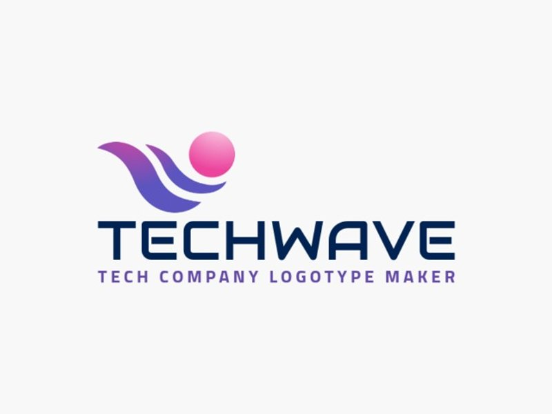 tech wave logo
