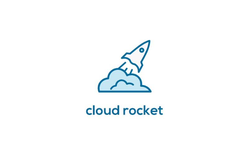 1 cloud rocket logo