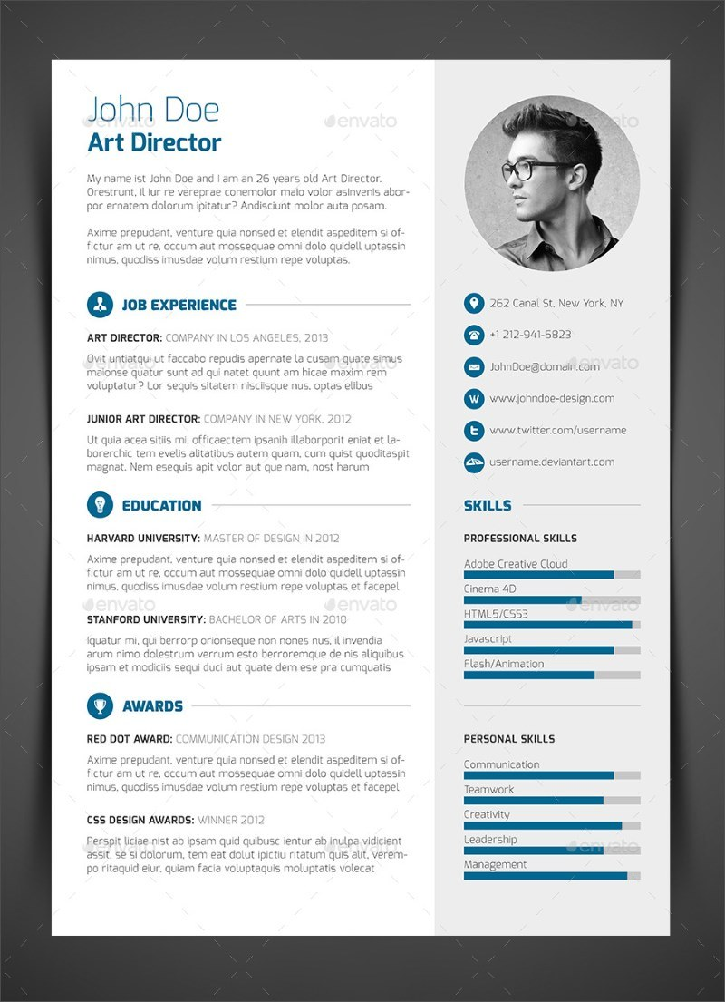 11 3 piece resume cv cover letter