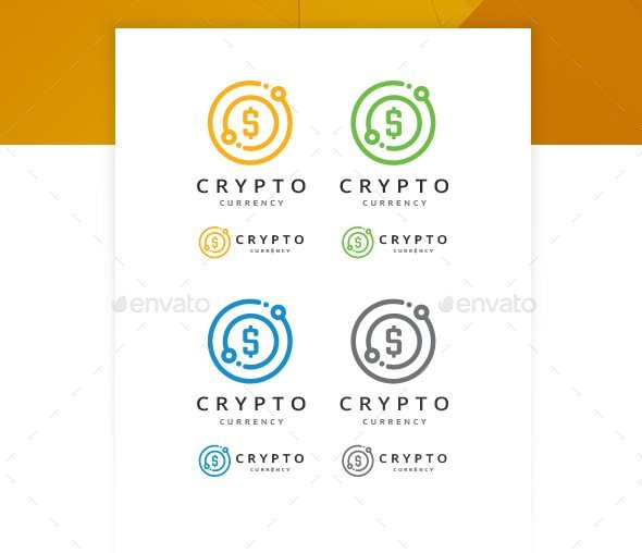 12 bitcoin crypto currency logo