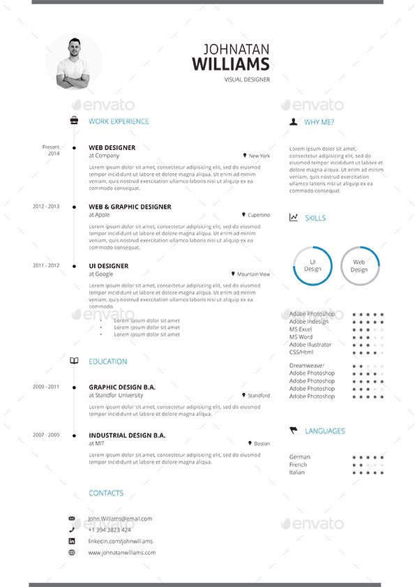 19 clean resume cv vol 2