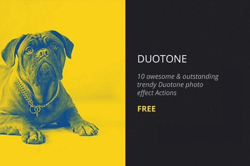 2 free duotone photoshop action