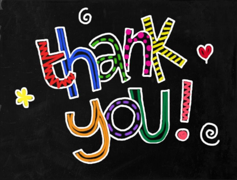 20 thank you lettering hand drawn image