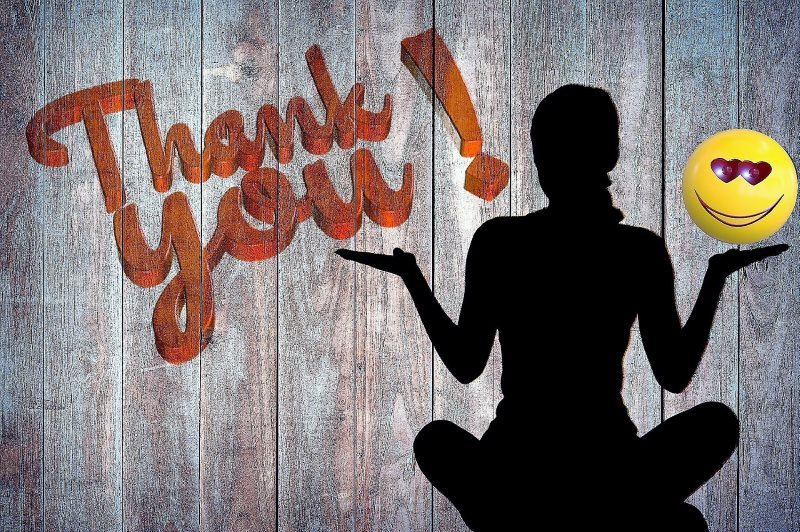 23 thank you silhouette letters